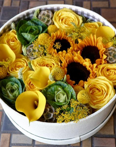 Yellow Heaven: delivery of flowers in