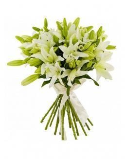 Bouquet of 25 lilies | 25 flowers flowers