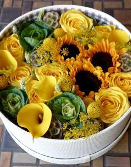 Yellow Heaven | Yellow flowers for Baby's Birth flowers
