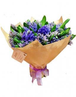 Bouquet of 51 hyacinths | Hyacinths flowers