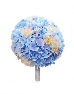 Bouquet of 15 blue hydrangeas | 15 flowers flowers