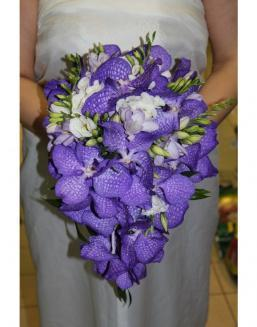 Bouquet of an orchid Wanda | Flowers to women flowers
