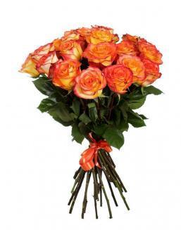 Bouquet of 15 orange roses | 15 flowers flowers