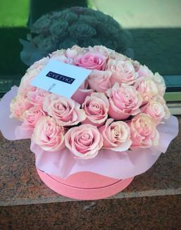 Original box with roses | 25 flowers flowers