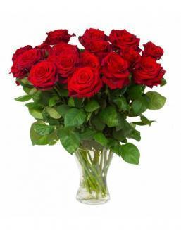 Bouquet of 15 red roses | 15 flowers flowers