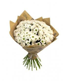 Bouquet of 25 chrysanthemums | 25 flowers flowers