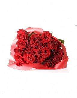 Bouquet of 21 red roses | Flowers to women flowers