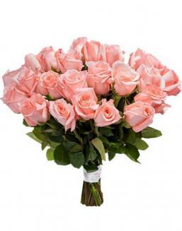 Bouquet of 33 pink roses | Flowers to girlfriend flowers